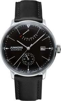 Junkers Automatik Herrenuhr Bauhaus 6060-2 in Schwarz 42% Rabatt @otto