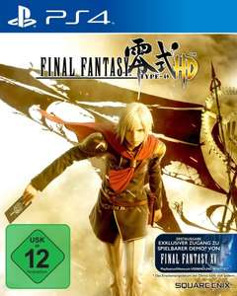 Final Fantasy Type-0 HD (Amazon, Ps4)