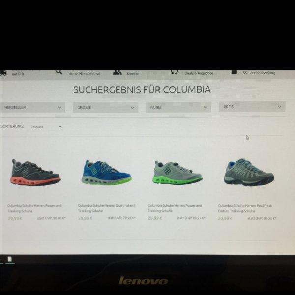 [outlet46.de] Columbia Trekking Schuhe 29,99€ inkl. Versand Vgp Ca. 60€