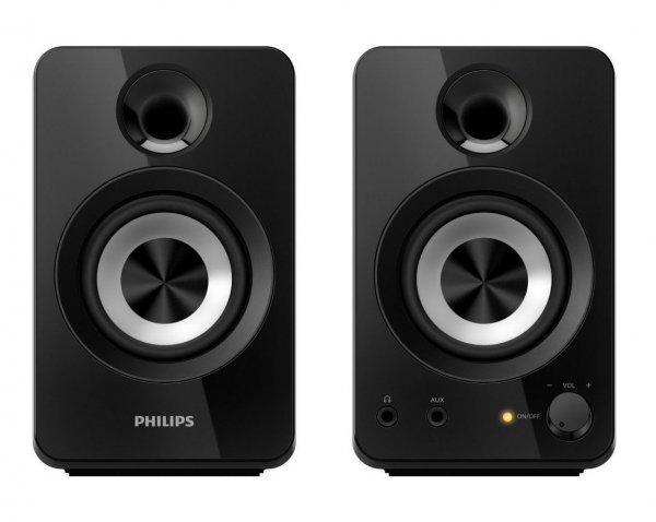 Philips SPA1260/12 2.0 Multimedia-Lautsprecher für 19,02€
