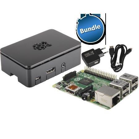 Raspberry Pi 2 Bundle (+ Gehäuse + Netzteil) für 46,99€