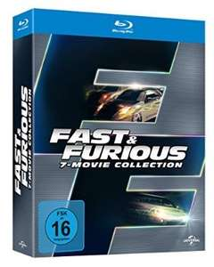 Fast & Furious 1-7 - Box [Blu-ray] > amazon.de u. mediamarkt.de (Qipu 4 %)
