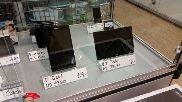 [Lokal Aldi Stade] Medion MD 99631 Tablet Pc 8.9Zoll FHD 32Gb Speicher 2Gb Ram für 99€