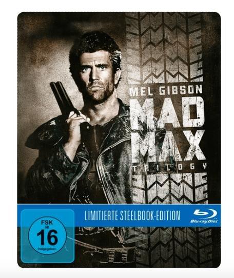 Mad Max Trilogie (Blu-ray Steelbook) für 16,99€ bei Saturn