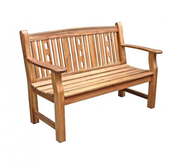 [Amazon] Der Sommer kann kommen! Dehner Gartenbank Bristol, 2-Sitzer, ca. 130 x 66 x 88.5 cm, FSC Akazienholz, natur für 35,23 € / UVP 299,95 € / nächster Preis 249,95 €