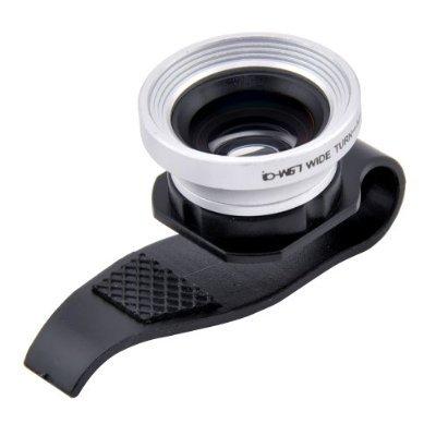 [Amazon Prime oder Buchtrick] Patuoxun Weitwinkel Makro Kamera Objektiv Kit mit Klammer 40% Rabatt