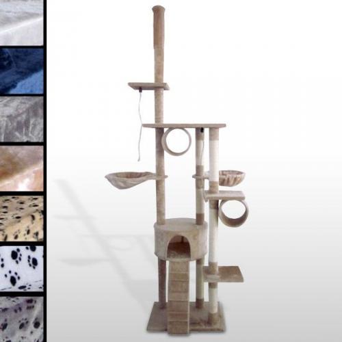 Katzenkratzbaum leopet® KBD006 (Höhe ca. 230cm) für 49,99 € inkl. Versand @Ebay