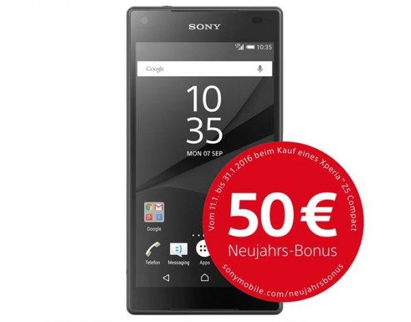 Sony Xperia Z5 Compact für effektiv 359,95€ (statt 436€) @allyouneed