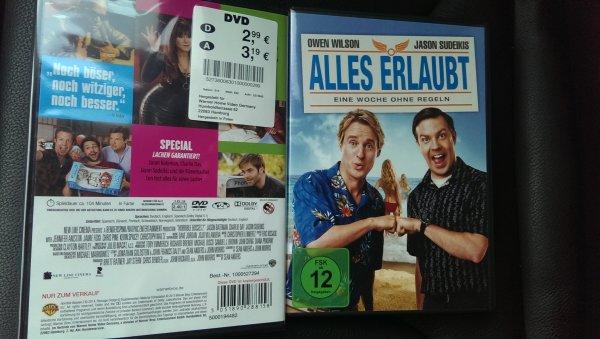 Diverse Dvds für 2,99€ bei kik