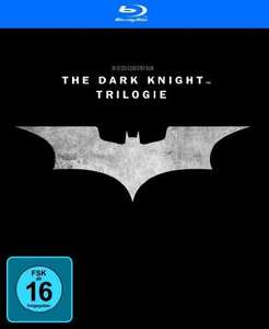 Batman - The Dark Knight Trilogy [Blu-ray] > amazon.de (Prime) /mediamarkt.de u. saturn.de (Abholung) für 13,99 €