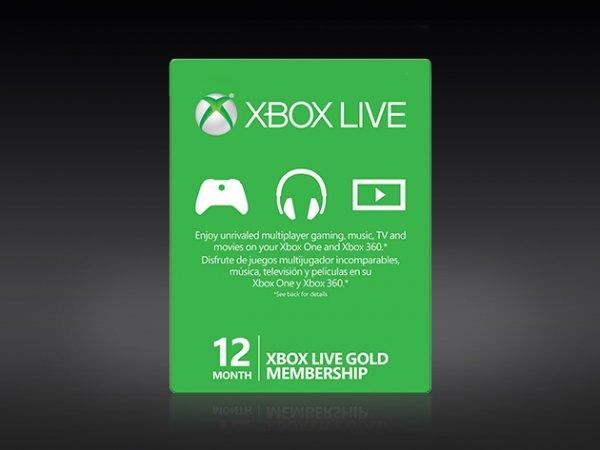 Xbox live gold 12 Monate mit 25% Rabatt 45$ statt 60 + 10 % Rabatt newsletter