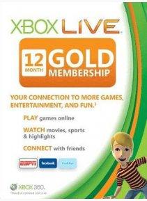 XBox-Live Gold 12 Monate ab 30.60€