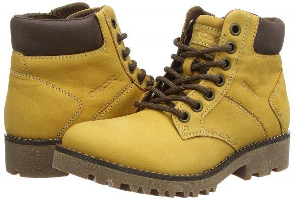 Geox JR AXEL C Jungen Kurzschaft Stiefel Leder Gr 28 bis 37 26,99 (Prime) - 29,99€