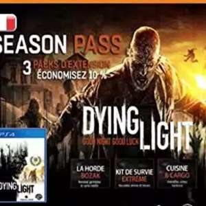 "Dying Light Season Pass PS4 (.fr) ,inkl ""following"""