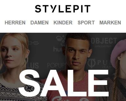 Stylepit Sale bis zu 80% Rabatt Herren / Damen / Kids, Humör, Kronstadt,JackJOnes, Converse, Vila, Solid etc.