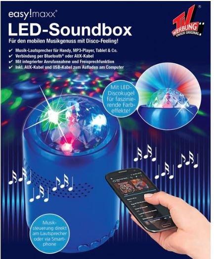 [Kodi On und Offline] Esaymaxx Led Soundbox