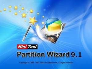 [Windows] Free MiniTool Partition Wizard Pro 9.1 (shareware on sale)