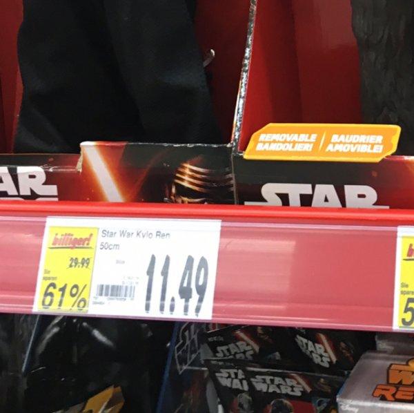 [Lokal Kaufland] Star Wars Figuren 50cm Kylo Ren / Cheebacca