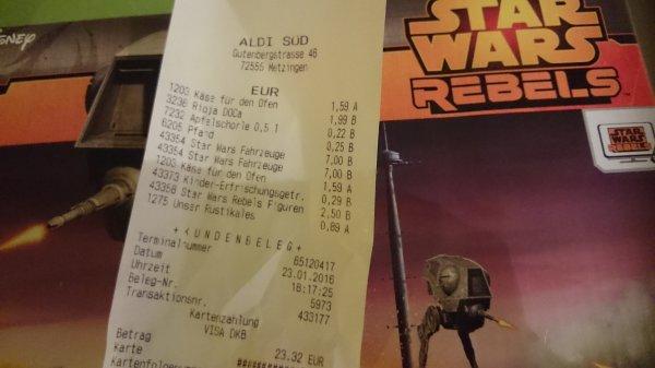 [lokal metzingen Aldi] Star wars rebels fahrzeuge