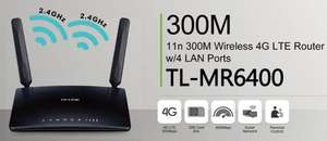 TP-Link TL-MR6400 LTE/4G-Router (Cat. 4: 150/50 MBit)