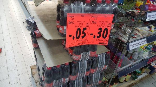 lokal Kaufland Fellbach 5 cent 0.5l