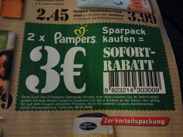 Pampers Sofort-Rabatt (Marktkauf)