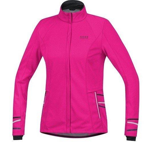(für Frauen) Gore Running Wear Mythos 2.0 Windstopper Soft Shell Laufacke Lady Pink alle Größen vorhanden UVP 199,95 Euro