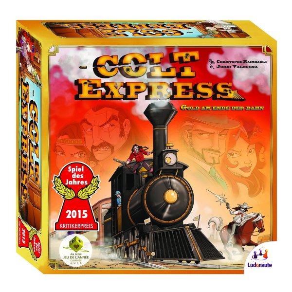 Colt Express [Amazon Prime, Brettspiel, Gesellschaftsspiel, Spiel des Jahres 2015]