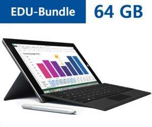Surface 3 EDU-Bundle (64GB + 4GB RAM + Cover + Stift)