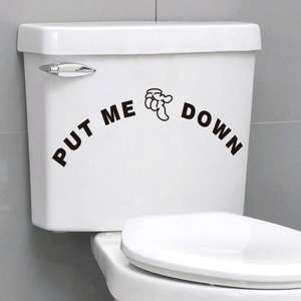 WC-Sitz mit Absenkautomatik + Sticker für 1€ @eBay
