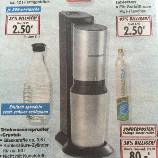 Kaufland (Bundesweit?) SodaStream Crystal Ersparnis 17,90€