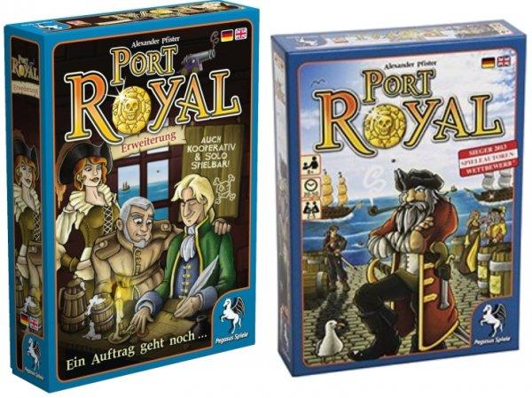 Port Royal + Erweiterung (Brettspiel, Gesellschaftsspiel, Thalia.de)