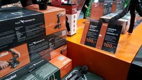 Rollei eGimbal G5 und G4plus 100.- Messepreis! OVP 399.-