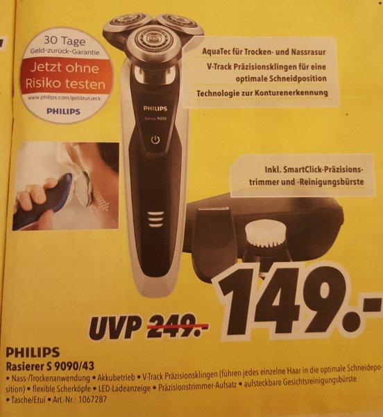 [OFFLINE Medimax] Philips Rasierer S9090/43 für 149,-€