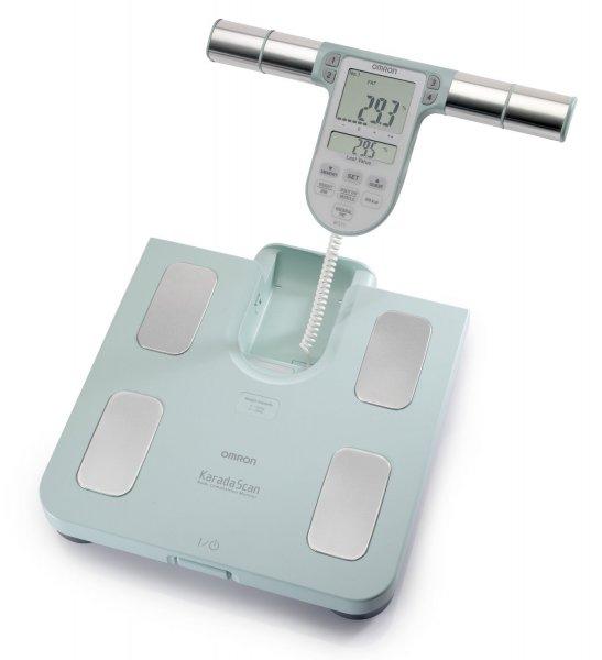 [amazon.de] 20% Rabatt Omron BF 511 Körperanalysegerät / Körperfettwaage türkis nur 59,84€ statt 74,80