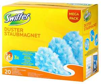 Swiffer Starter-Kit 2€ oder 20x Ersatz-Staubmagnettücher 7€ bei Kaufland