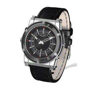 Rotary Herren Uhr (Swiss Made) + Lebenslange Garantie