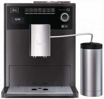 [Amazon] Melitta E 970-205 Caffeo CI Special Edition Kaffeevollautomat, Espressomaschine, Einstellbare Brühtemperatur, Integriertes Mahlwerk, Milchaufschäumer, Wasserfilter, Reinigung + Entkalkungsfunktion