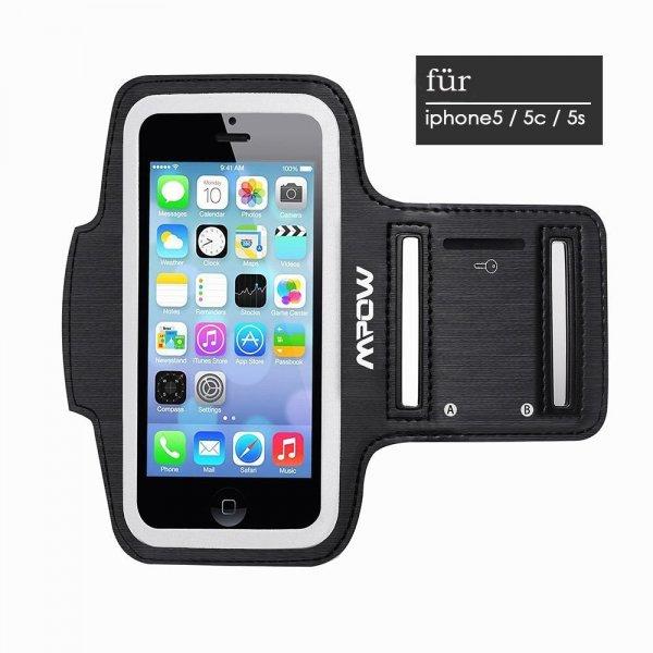 @Amazon: iPhone 5/5S/5C, iPod Touch 5 Sport Hülle von Mpow für nur 6,29€ mit Prime