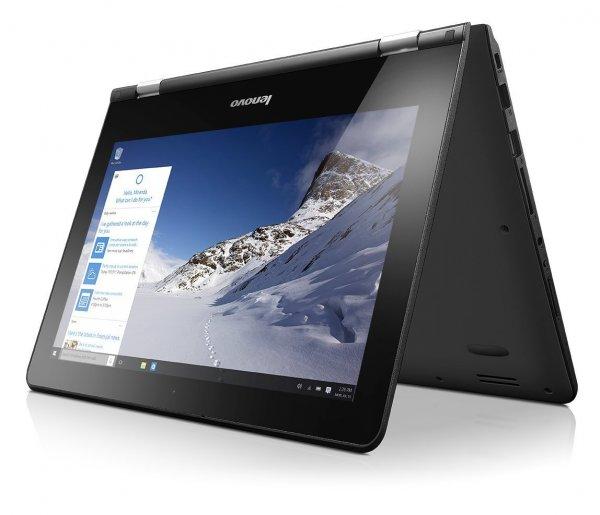"Lenovo Yoga 300 (360° 2-in-1 Notebook) - 11,6"" HD Display, Intel N2840, 2GB Ram RAM, 32Gb eMMC, WLAN, BT, Camera, Windows 10 für 189,43€ bei Amazon.co.uk"
