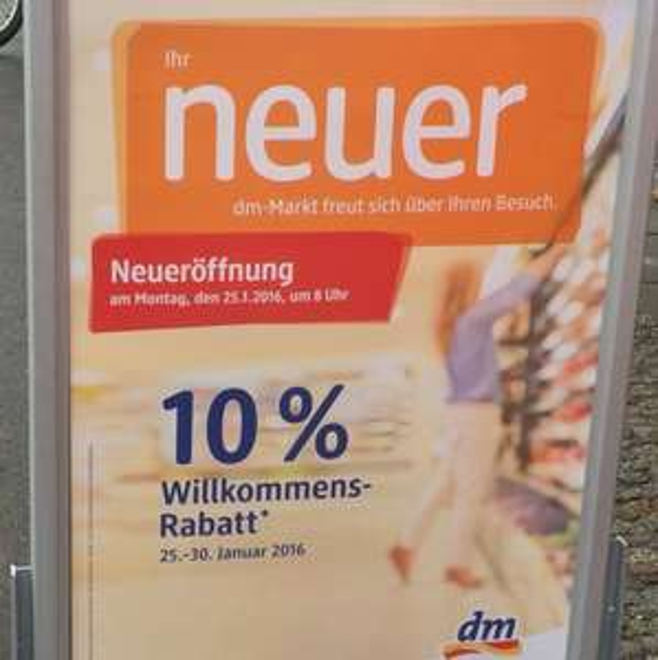 [Leipzig] DM 10% Rabatt Bayrischer Platz Leipzig