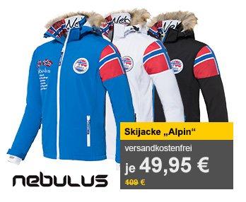 """NEBULUS Skijacke """"Alpin"""" für 46,95 € inkl. Versand @allyouneed"""
