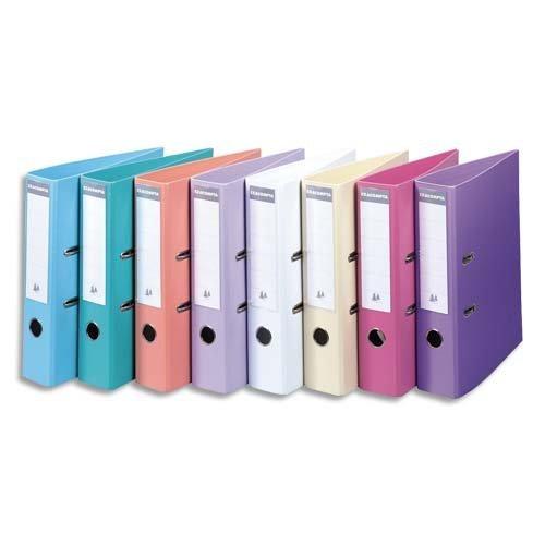 [Amazon] 10x Exacompta 53044E Ordner (PVC, 2 Ringe, Rücken 50 mm, DIN A4, farbig sortiert) für 8,36 €