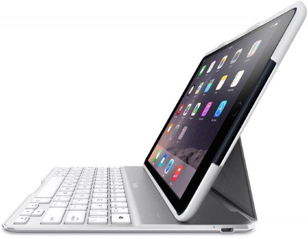 [Amazon Italien] Belkin QODE Ultimate Tastatur mit Hülle für das iPad Air 2 in weiß für 27,52€