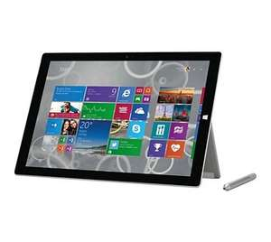Microsoft Surface Pro 3 (12 Zoll WQHD Touch, Intel Core i7-4650U, 8GB Ram, 256 GB SSD, HD Graphics 5000, Windows 10 Pro) für 1.017,26€ bei Amazon.de