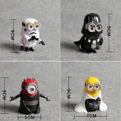 Kostenlose Minions Star Wars Cosplay Figuren (es fallen nur Versandkosten an)