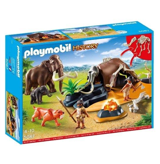 [Amazon Prime] Playmobil 5087 - Steinzeitlager mit Feuer - LED Beleuchtung - (Idealo: ab 28€) - Der Deal hielt ganze 2 Sekunden. Neuer Rekord? In den WHD noch da!