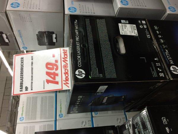 [MM Berlin Steglitz] HP Color Laserjet Pro M177fw für 149€ anstatt 249€.