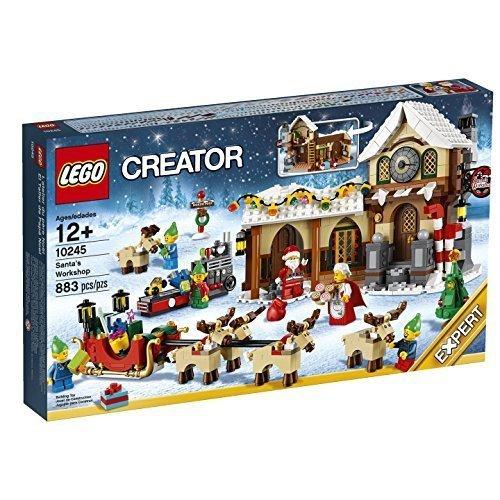 VORBEI @baby-walz.de: LEGO - Creator Expert - Weihnachtliche Werkstatt (QIPU)