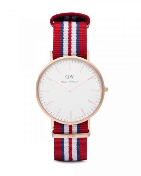 [Amazon] Daniel Wellington Herren-Armbanduhr XL Exeter Analog Quarz Nylon 0112DW